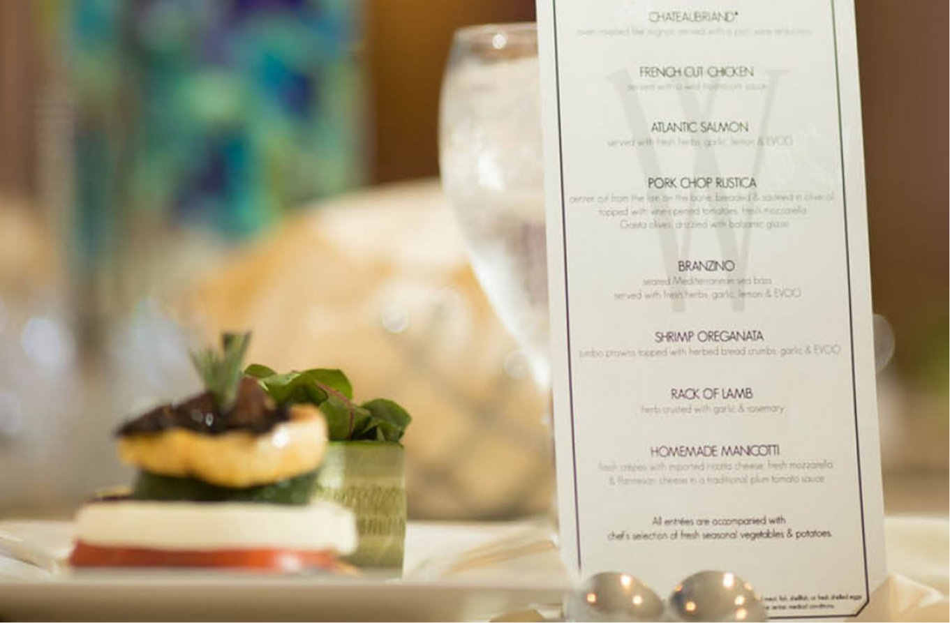 watermill cuisine menu