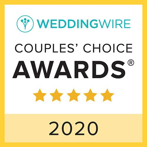 wedding wire couples choice badge 2020